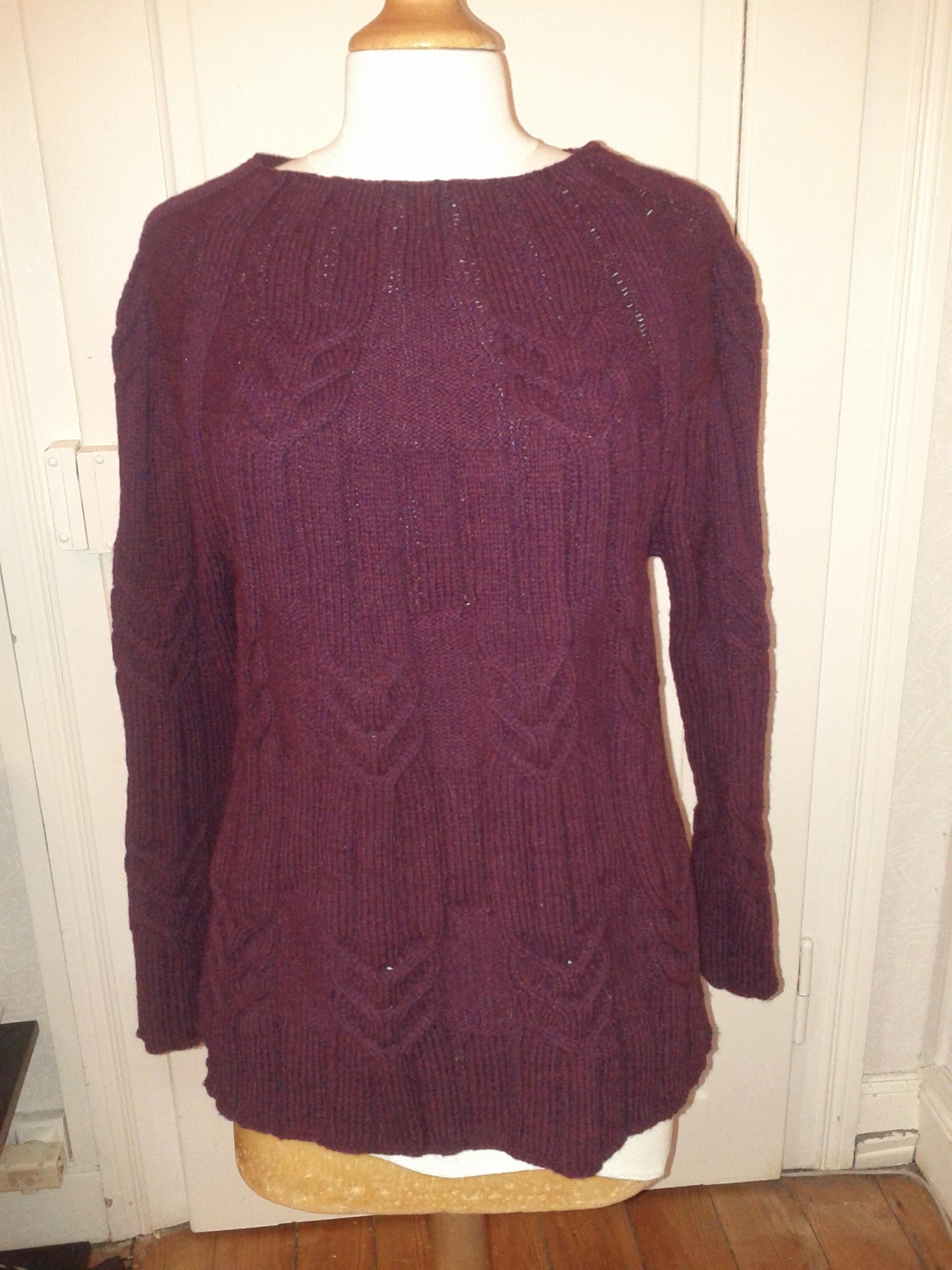 modele tricot origin alpaga
